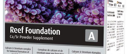 Reef Foundation  A (Ca/Sr)